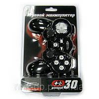 Игровой манипулятор Gemix GP-30 black USB (виброотдача,MACRO)