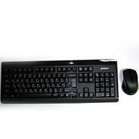 Беспроводная клавиатура A4Tech 6100F V-Track  +мышка до 15м