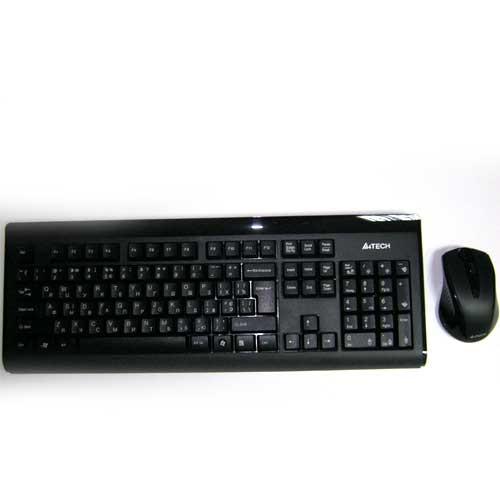 """Беспроводная клавиатура A4Tech 6100F V-Track  +мышка до 15м - интернет-магазин """"Микс"""" в Днепре"""