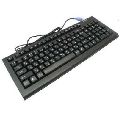 "Клавиатура   A4Tech KRS-85 USB  X-Slim черная - интернет-магазин ""Микс"" в Днепре"
