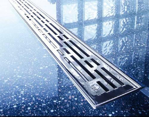 Дренажные каналы - альтернатива поддонам для душевых кабин.