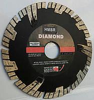 "Алмазный диск для глубокой резки бетона, гранита ""DIAMOND-SEGMENT"" 125x2,0/1,4x7/24x22,23, фото 1"