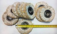 Сизаль круг полировочный 100 мм внутренний диаметр 19 под шестигранник