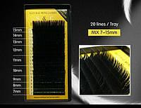Ресницы для наращивания S&C Микс C 0.07