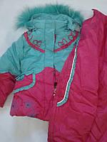 Зимний костюм для девочки Kaolun
