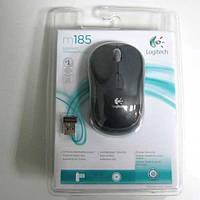 Беспроводная мышка Logitech M185 black-gray  USB
