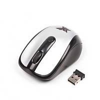 Беспроводная мышка Maxxtro Mr-306s(Распродажа!!!)silver  USB