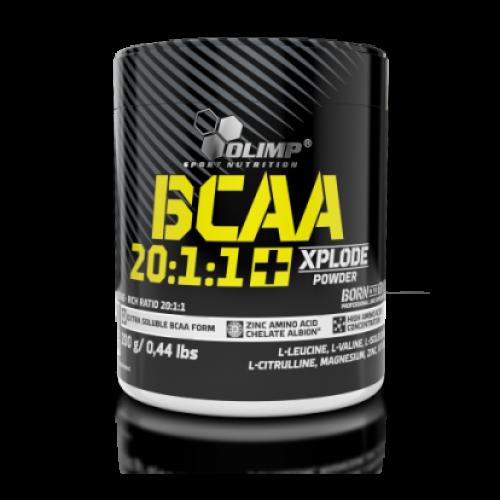 OLIMP BCAA 20:1:1 + Xplode 200 g, Олимп БЦА 20:1:1 Эксплод 200 грамм