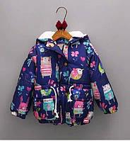 Демисезонная куртка в стиле Next для девочки на 3,4,5,6 лет