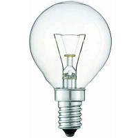 Лампочка  PHILIPS  Р-45 шар  Е14  40 W  обыкн.проз.