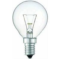 Лампочка  PHILIPS  Р-45 шар  Е14  60 W  обыкн.проз.