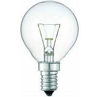 Лампочка  PILA Р-45 шар  Е14  40 W  обыкн.прозрачная(Распродажа!!!)