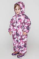 Детский зимний совместный комбинезон для девочки  Саша.