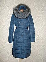 Пальто женское зимнее Lusskiri 8311 индиго XXL