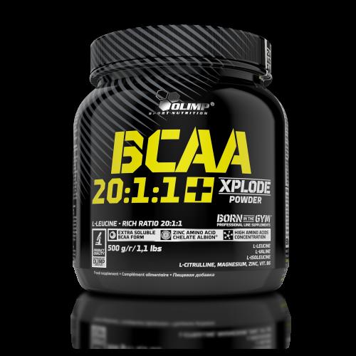 OLIMP BCAA 20:1:1+ Xplode 500 g со вкусом