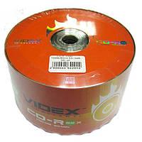 Диск CD-R  Videx   700Mb/80min 52x (bulk 50)