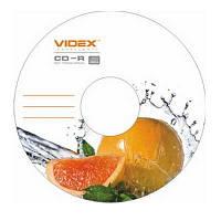 Диск CD-R  Videx Fresh грейпфрут 700Mb/80min 52x (bulk 10)