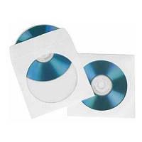 Диск DVD+R +конверт  поштучно