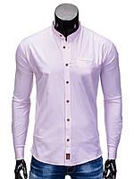 Мужская Рубашка R353 L, Розовый