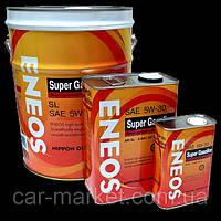 Моторное масло Eneos 5W30 Полусинтетика 4литра