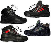 Чоловічі зимові черевики на хутрі серії КБЧ