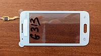 Тачскрин для SAMSUNG G313 Galaxy Ace 4 Duos белый