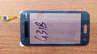 Тачскрин для SAMSUNG G318 Galaxy Ace 4 Neo Duos тёмно-серый