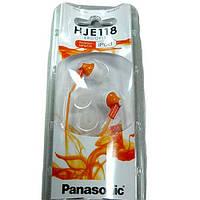 Наушники  Panasonic RP-HJE118GU--D  orange
