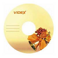 Диск Videx Звонок 4,7Gb  - 16x  (bulk 10)  DVD-R