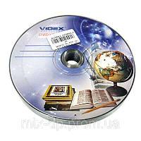 Диск Videx Тетрадка 4,7Gb - 16x  (bulk 10)  DVD+R