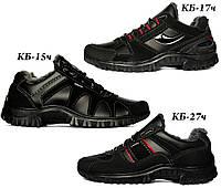 Мужские зимние кроссовки на меху серии КБК
