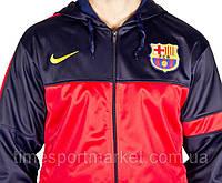 Кофта мастерка ФК Барселона размер М на рост 176 см