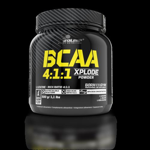 OLIMP BCAA 4:1:1 Xplode 500 g, Олимп БЦА 4:1:1 Эксплод 500 грамм