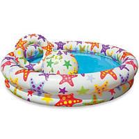 Детский надувной бассейн Intex 59460