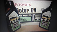 Моторное масло Toyota Synthetic Motor Oil 0W-20 0,946л