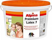 Латексная краска Alpina Premiumlatex 7 B1, 10л