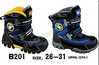 Термоботинки детские зимние Super Gear на мальчика 26- 30 размеры, фото 1