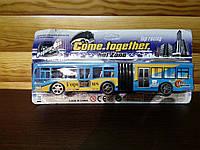 Автобус гармошка инерционный