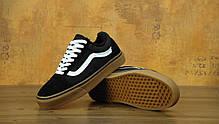 Кеды Vans Old Skool Winter Edition Black Gum, зимние вансы с мехом. ТОП Реплика ААА класса., фото 3