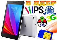 Планшет телефон HUAWEI MEDIAPAD 8 ядер, 3G, IPS