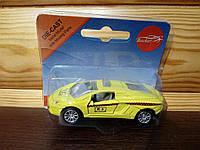 Машинка Такси меллическая инерционная