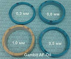 Для прокладок применяются материалы различных толщин от 0,3 мм до 3,0 мм.