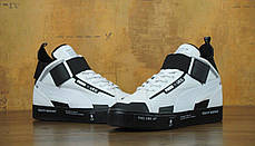 Кроссовки мужские пума Puma Court Play x UEG White/Black . ТОП Реплика ААА класса., фото 3