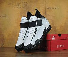 Кроссовки мужские пума Puma Court Play x UEG White/Black . ТОП Реплика ААА класса., фото 2
