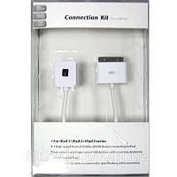 Кабель   USB AF TO Apple OTG (для подключения USB уст-в к пл-ту Apple)  0.15m