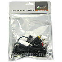 Кабель  Gemix (GC 1916)(Распродажа!!!)ТВ кабель для синхронизации Samsung Galaxy Tab 1,8м