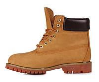 Ботинки Classic Timberland 6 inch Yellow Boots, ботинки тимберленд