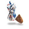 Конфеты Снегири с тертым арахисом от КФ Коммунарка