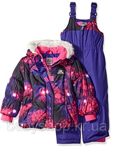 Зимний раздельный комбинезон ZeroXposur(США) для девочки 2-3 года