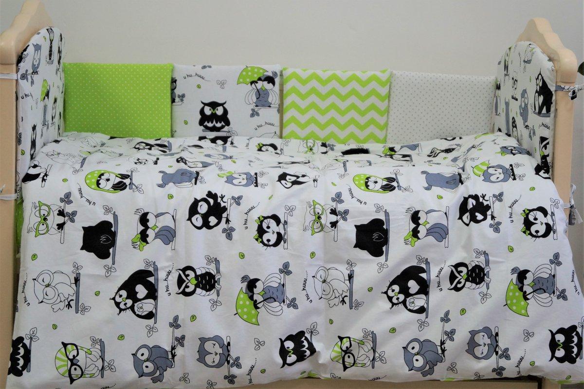 Сменная постель в детскую кроватку «Joy» из 3 едениц